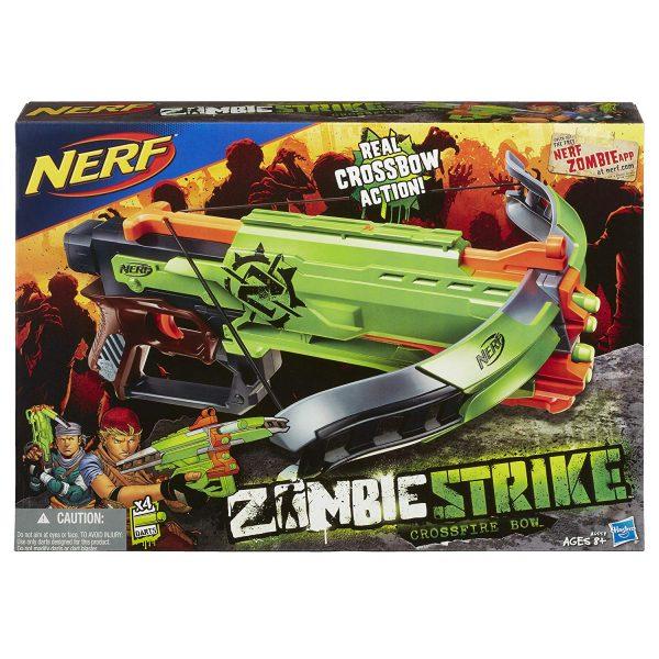 Hộp súng Chơi súng NERF ZOMBIE STRIKE CROSSFIRE BOW TOY