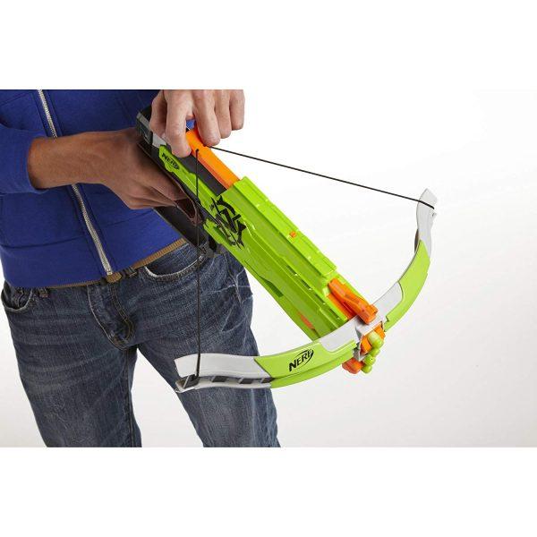 Chơi súng NERF ZOMBIE STRIKE CROSSFIRE BOW TOY