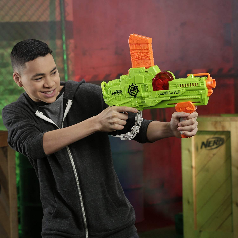 Chơi súng Nerf Zombie Strike RevReaper