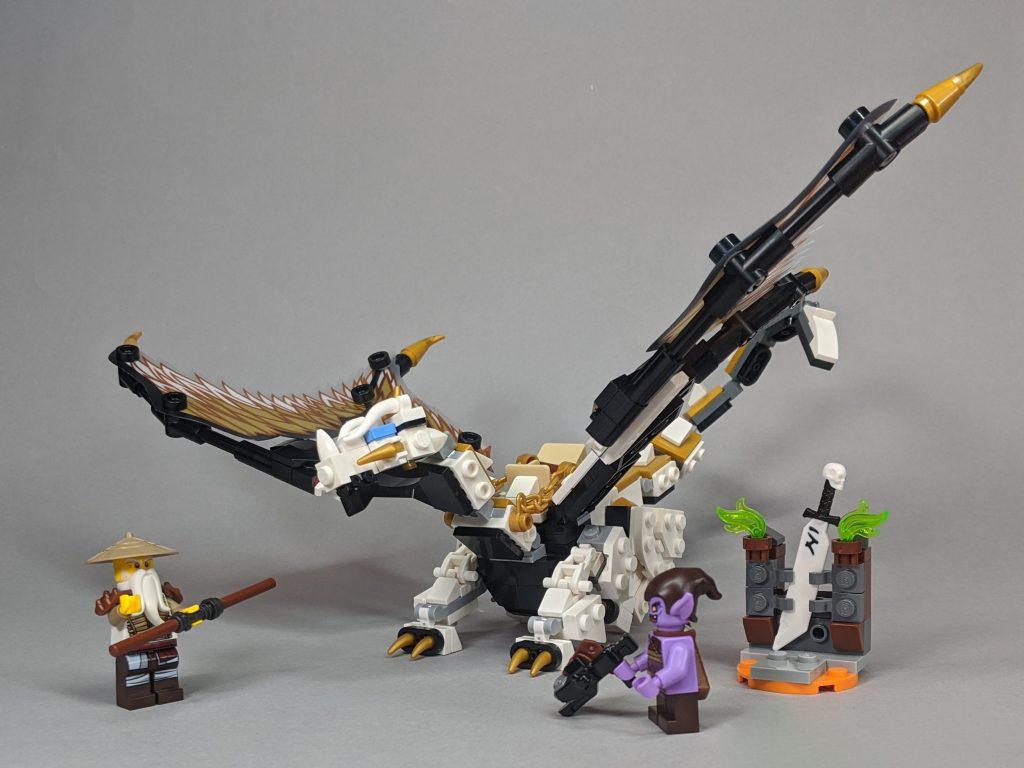 Review LEGO 71718 Ninjago: Rồng chiến đấu của Wu