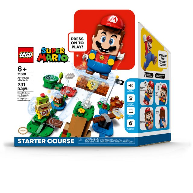 LEGO Super Mario – Tiết lộ bốn gói mở rộng Power-Up mới