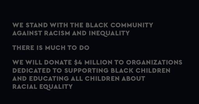 LEGO chống lại nạn phân biệt chủng tộc và bất bình đẳng bằng cách quyên góp 4 triệu đô la