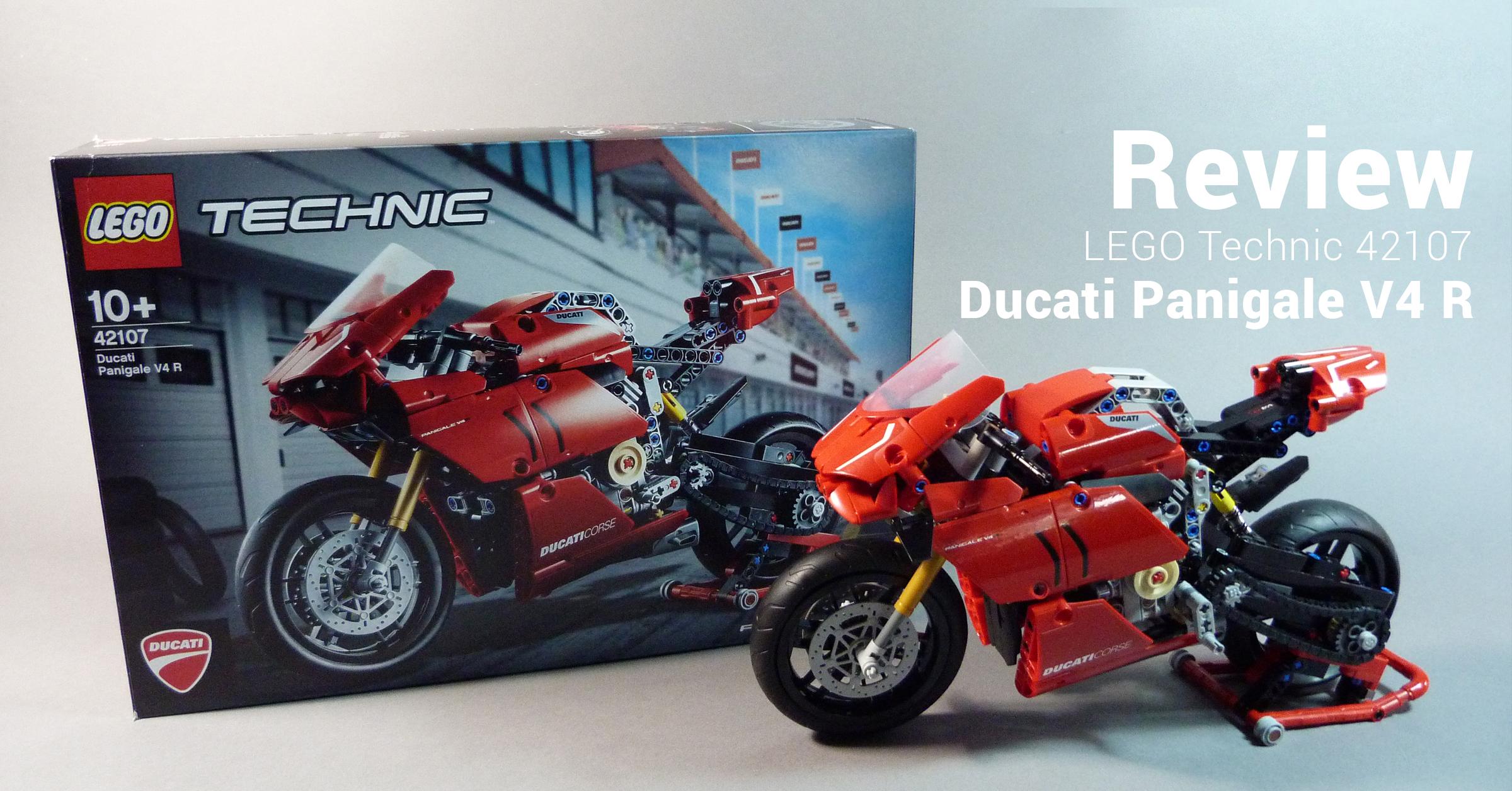 [Đánh giá] Review Xe máy Mô tô LEGO 42107 Ducati Panigale V4 R