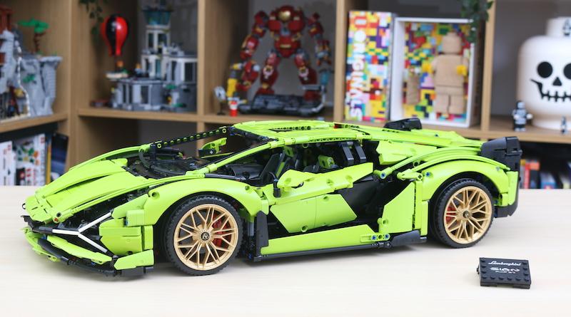 Đánh giá Review siêu xe LEGO Technic 42115 Lamborghini Sián FKP 37