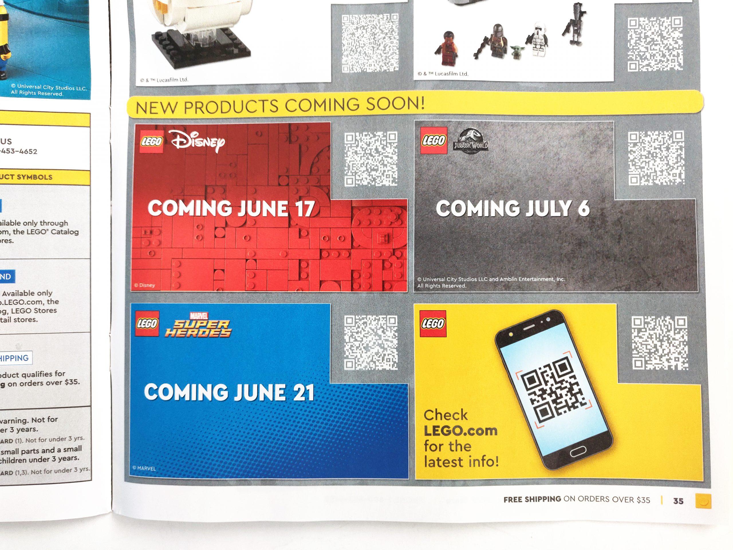 Các bộ LEGO Disney mùa hè 2020 sắp ra mắt