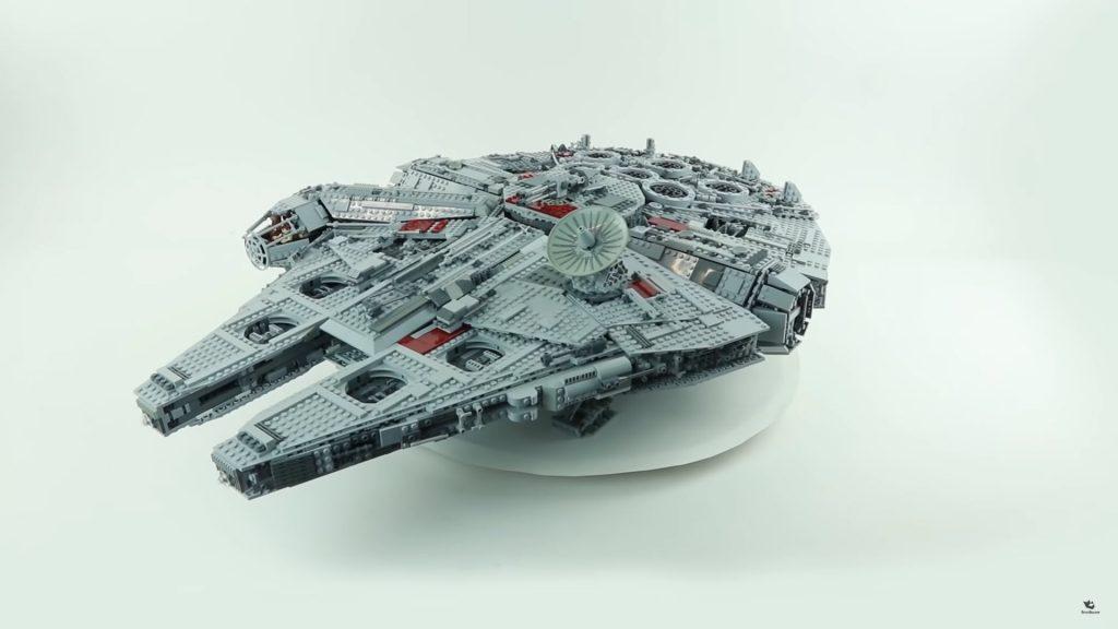 Lắp ráp bộ LEGO Star Wars Millennium Falcon 10179 – 5197 mảnh ghép