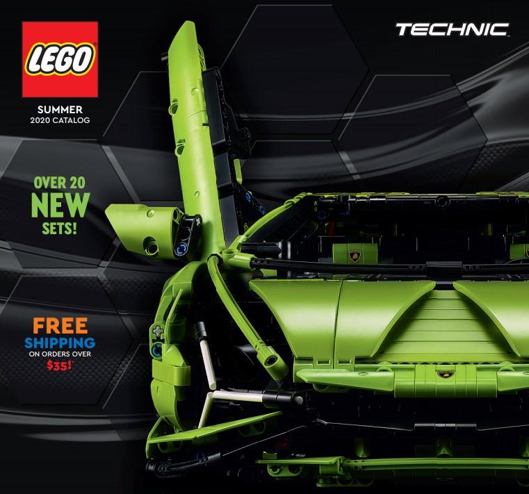 Đã có thể tải cuốn Catalog LEGO dành cho Mùa hè 2020