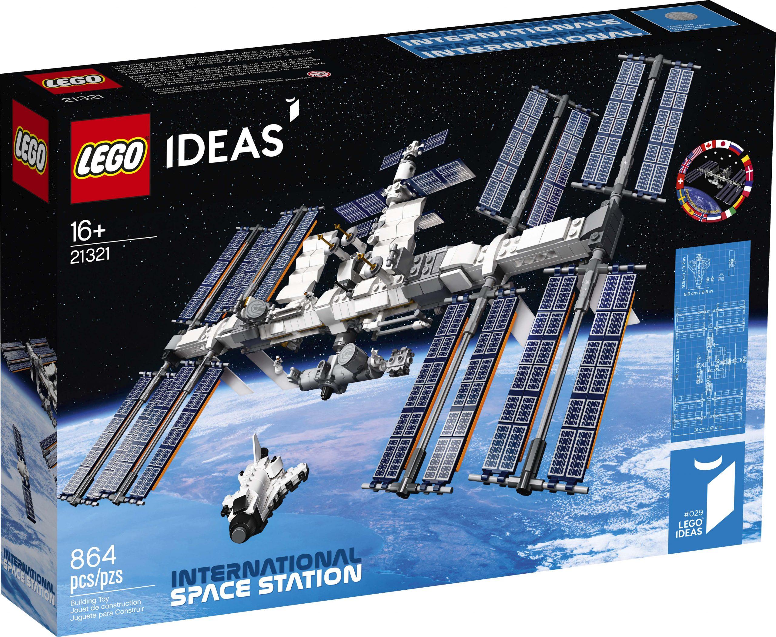 Trạm vũ trụ quốc tế LEGO Ideas (21321) đang được bán tại LEGOLAND Shop