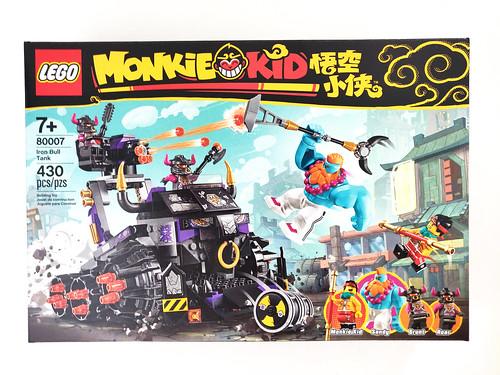 Đánh giá bộ Xe tăng LEGO Monkie Kid Iron Bull (80007)