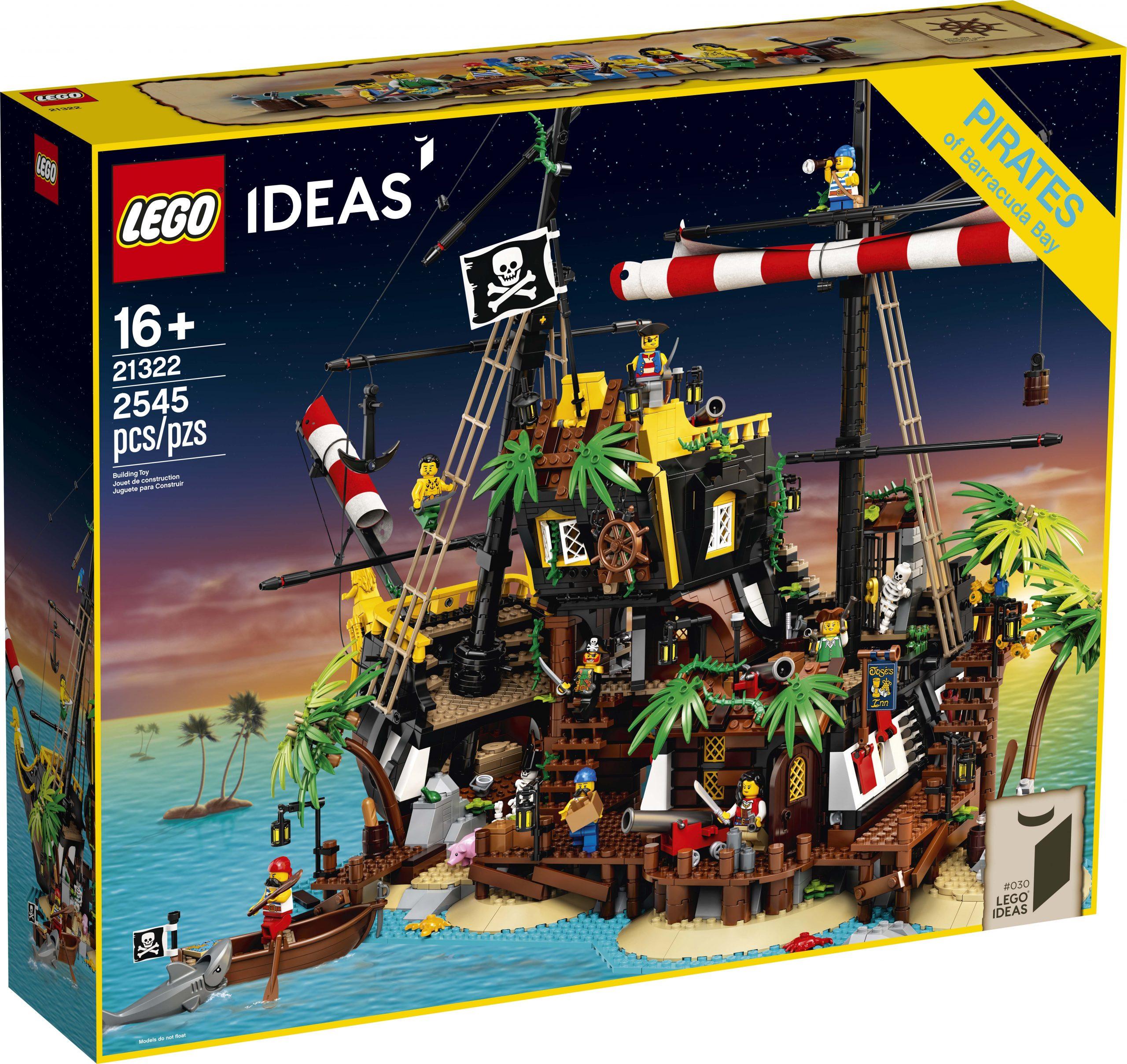 LEGO Ideas Pirates of Barracuda Bay (21322) mở bán lại tại các cửa hàng chính hãng LEGO