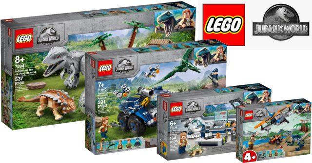 [Tin tức] LEGO Jurassic World mới cho mùa hè 2020 đã ra mắt tại Châu Mỹ