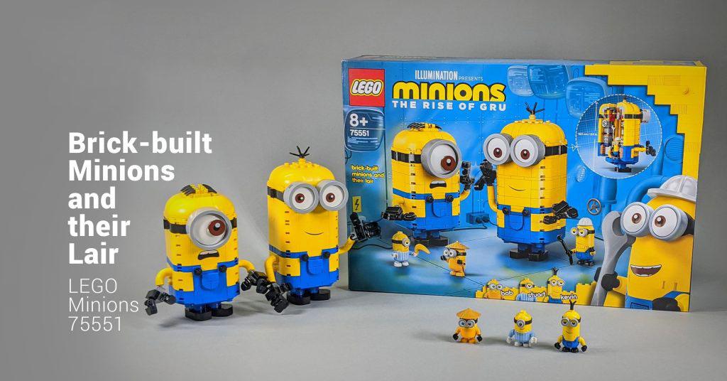 [Đánh giá] Bộ sản phẩm LEGO 75551 Minions: Lắp ráp Minions và Lair của họ