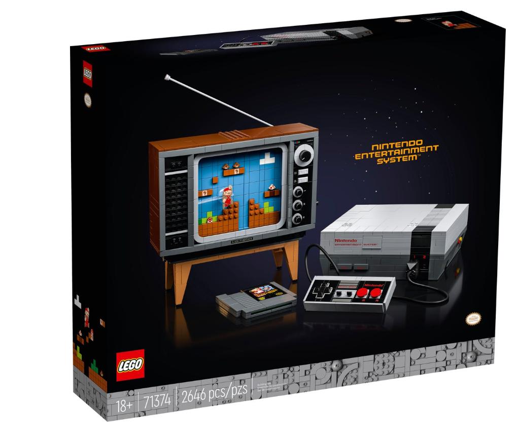 Hệ thống giải trí LEGO Nintendo (71374)