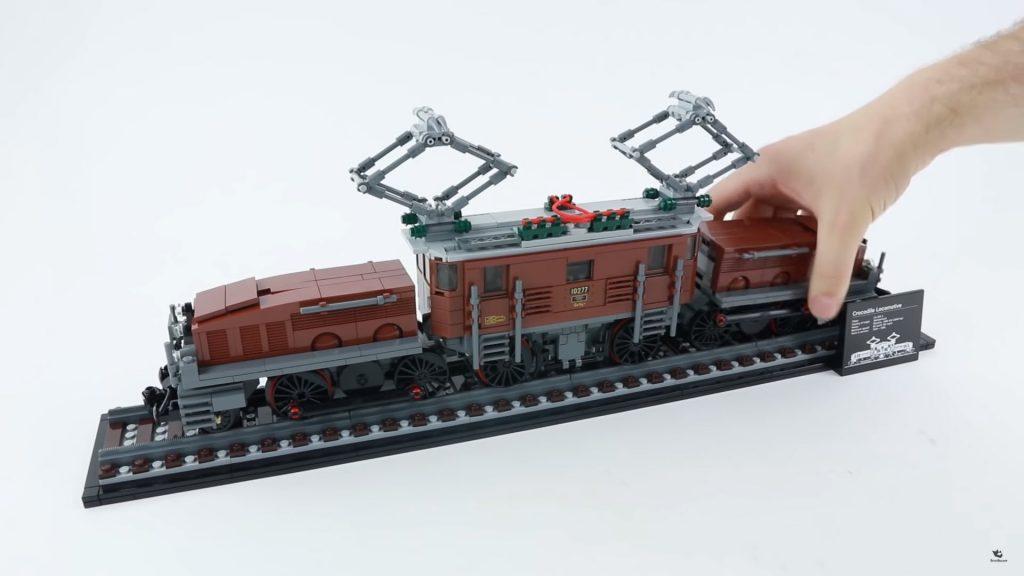 Hướng dân Lắp ráp nhanh bộ đầu tàu lửa LEGO 10277 Crocodile Locomotive Creator Expert