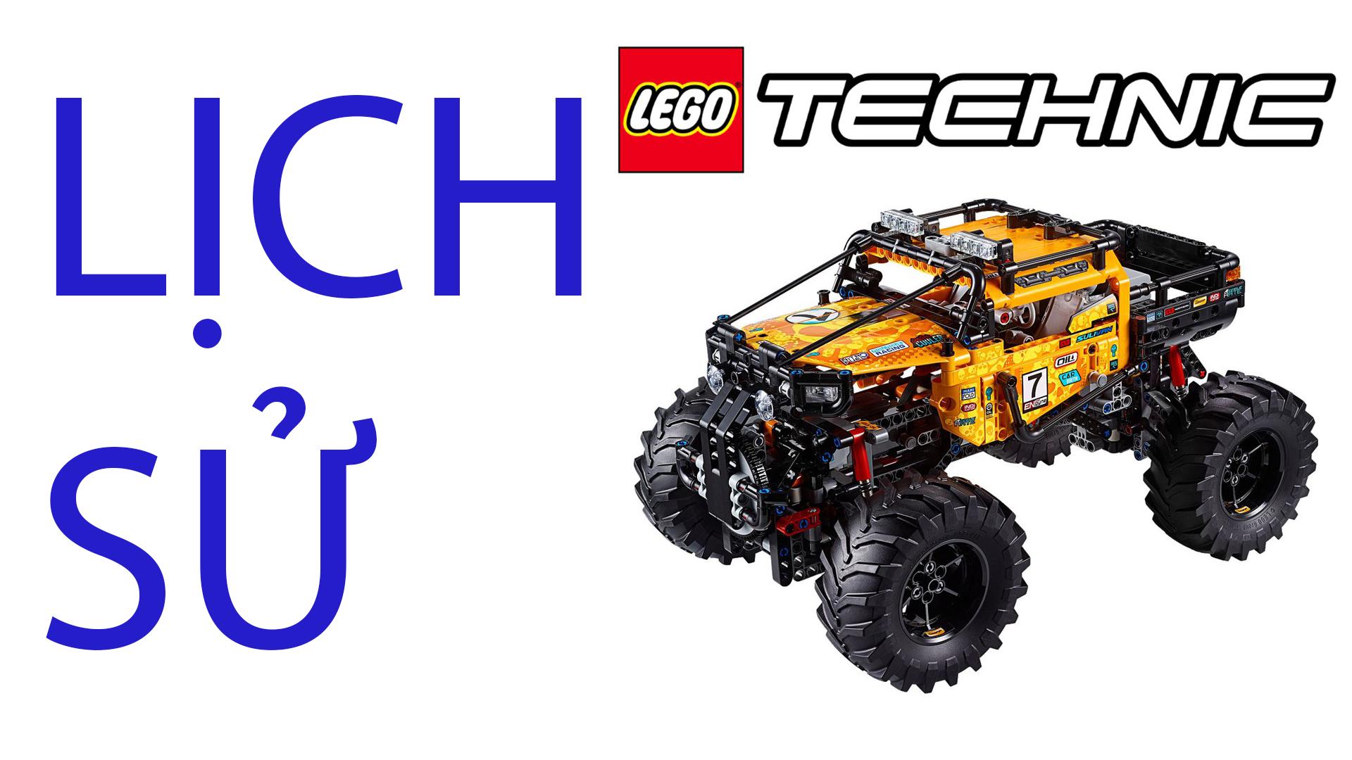 LEGO Technic là gì? Lịch sử phát triển của LEGO TECHNIC