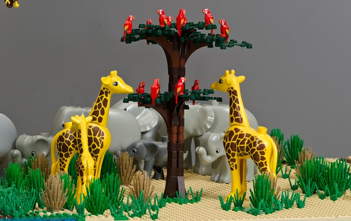 Triển lãm Brick Wonders giới thiệu LEGO Wonders of the World