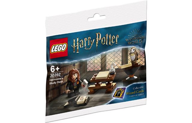 LEGO Harry Potter tiết lộ sản phẩm Bàn học của Hermione (30392)